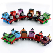 6pcs children's thomas and Friends thomas train set the tank engine metal magnetic tomas car die cast toys cars miniatures gifts(China (Mainland))