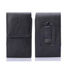 "Buy Holster Clip Belt PU Leather case cover Cubot Z100 5""inch Universal Coque Capinha Pouch belt clip Cover phone cases for $5.59 in AliExpress store"
