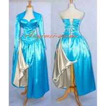 Free Shipping Sexy O Dress The Story Of O With Bra Satin Dress Cosplay Costume Custom-made(China (Mainland))