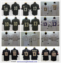 100% Stitiched Eli Manning Odell Beckham Jr Phil Simms Taylor Victor Cruz white Black Green Salute,camouflage(China (Mainland))