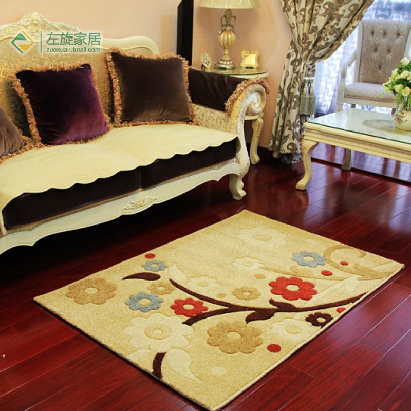 Living room coffee table sofa piaochuang carpet rustic flower carpet modern brief shop for carpet(China (Mainland))