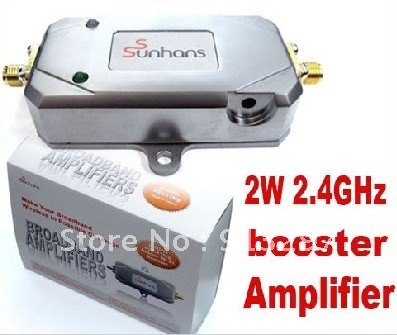 Direct Marketing 2W,2.4GHz, 33DBi 2000mW SUNHANS signal ,Amplifiers,Booster,repeater for WIFI(China (Mainland))