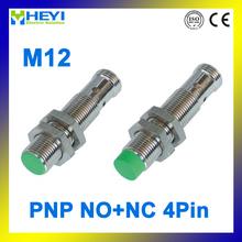 4-pin inductive proximity sensor LJ12A3-4-Z/CY-G PNP M12 proximity switch NO+NC