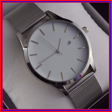 Quartz Movement Tan Leather Band New Design Men Watch relogios Style No Name dropship watches Relojes(China (Mainland))