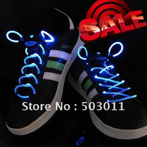 Wholesale,10pcs(5 pairs),1nd LED Shoelace,Light up led shoelace,free shipping too all countries(Hong Kong)