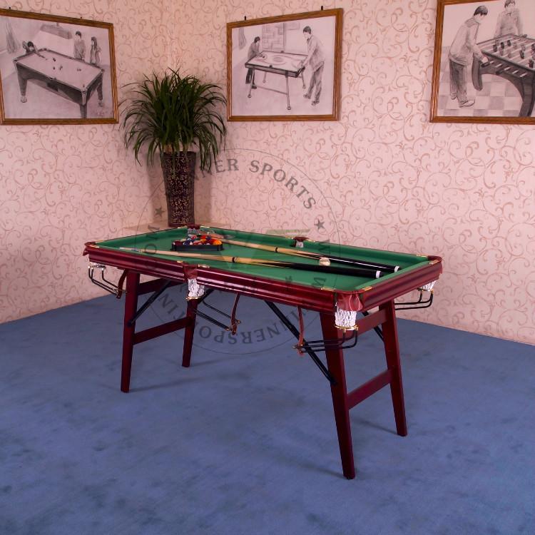 Achetez en gros pliable table de billard en ligne des grossistes pliable ta - Taille table billard ...