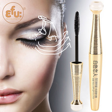 1pcs Professional Makeup Brand White Lover Lotus Series Mascara, High Quality Waterproof cosmetic 6.5g #7007