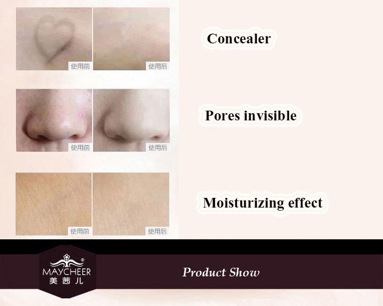 Base de Maquiagem profissional Corretivo Creme de Fundação 10 Cores Tampa Oil-controle Hidratante Poros Camuflagem Paleta de Contorno