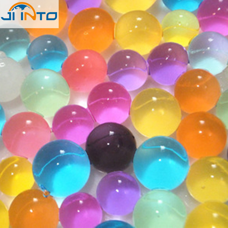 500pcs Crystal ball 2.5mm to 3mm Crystal soil/Crystal ball/sea baby grow up 10-20mm hydrogel beads water holder(China (Mainland))