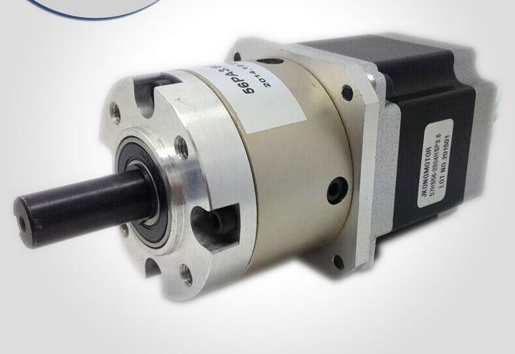 Фотография NEMA 23 76mm Gearbox Stepper Motor 57HS76-3004PG65 Gearbox Reduction Ratio 65:1