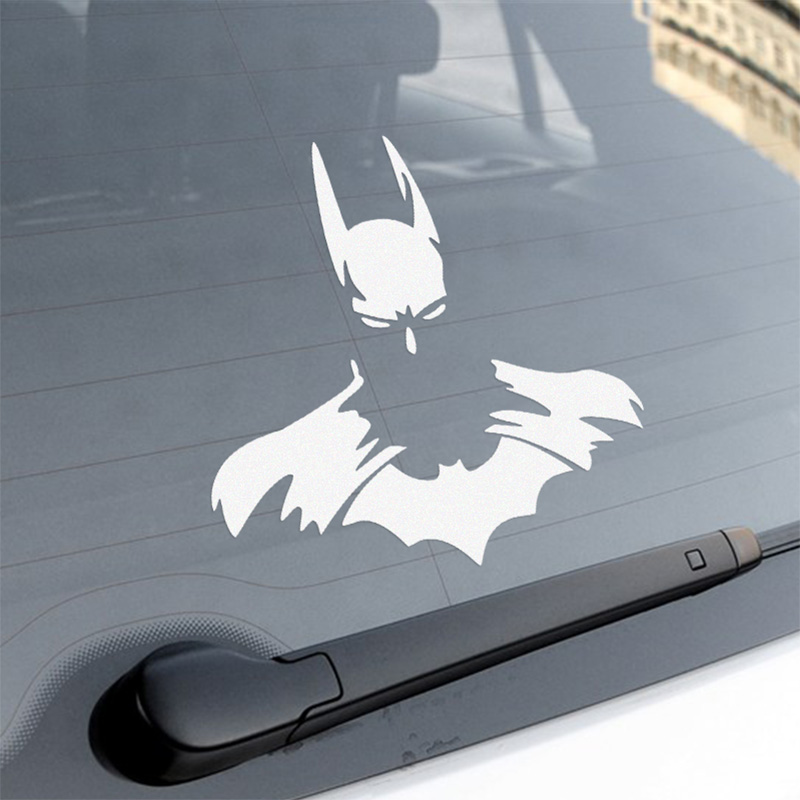 3 Pieces Customization Batman On car Whole Body Stickers Car-styling For Ford VW volkswagen toyota opel renault car accessories(China (Mainland))