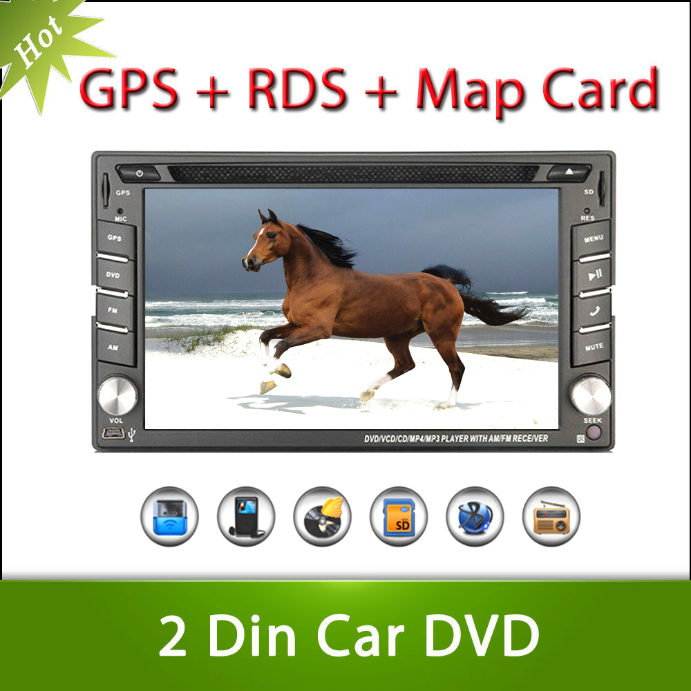 new 2din Car DVD GPS Player Double Radio Stereo In Dash MP3 Head Unit CD Camera parking 2DIN HD TV(optional) Radio Video Audio(China (Mainland))