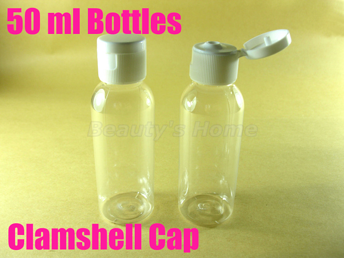 50ml clamshell cap bottle perfume make container small/empty bottles #1959 - Packing Supplier(Bottles and Jars store)