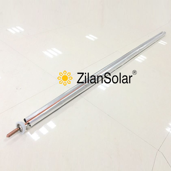 14mm heat pipe with Aluminum fin for D47-L1500MM vacuum tube fit compact pressurized solar water heater(China (Mainland))