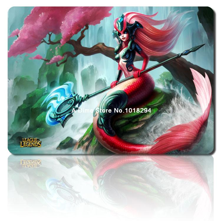 Koi Nami mouse pad lol mousepad laptop Legends mouse pad razer notbook computer gaming mouse pad gamer play mats(China (Mainland))