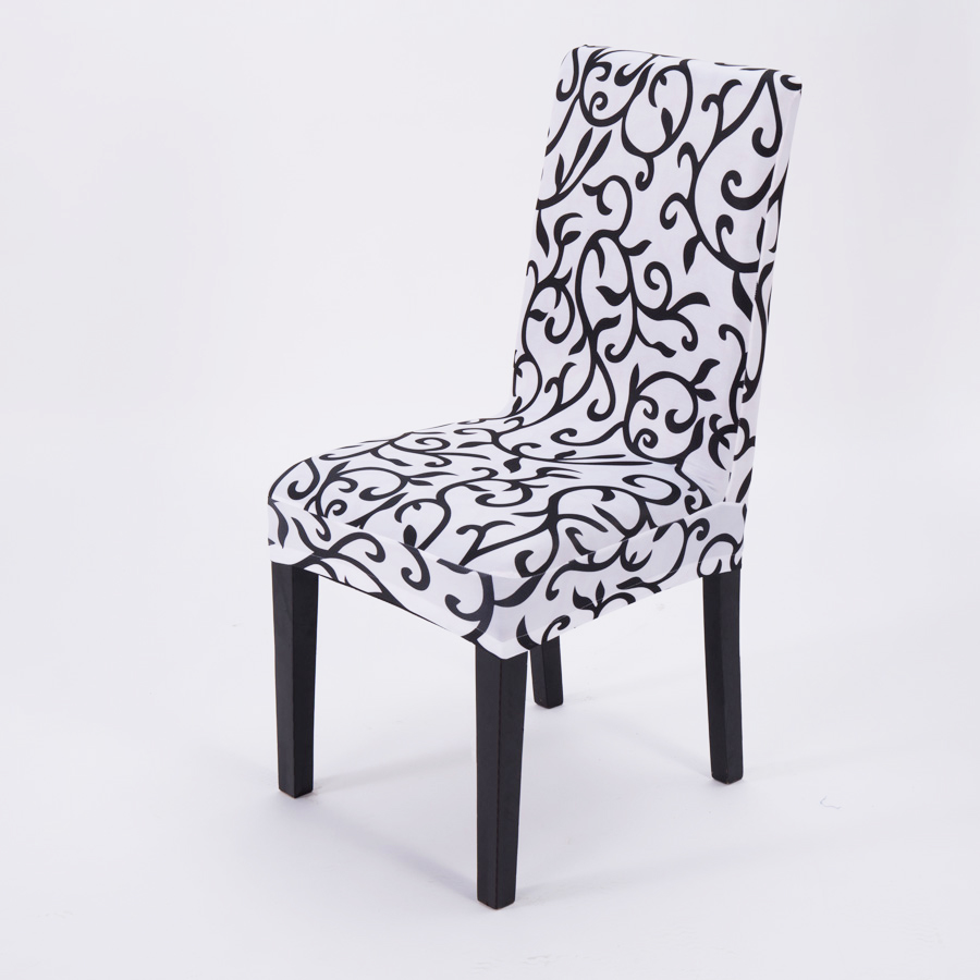 Stretch Simple Modern Cheap Chair Cover Spandex for Office Computer Dinging Party Wedding Kitchen Decoration(China (Mainland))