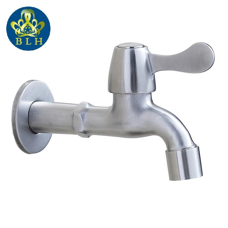 BLH 543L Garden Water Taps Wanfan Faucet Garden Tap Washing Machine Bibcock Torneira De Parede 304 Stainless Steel(China (Mainland))