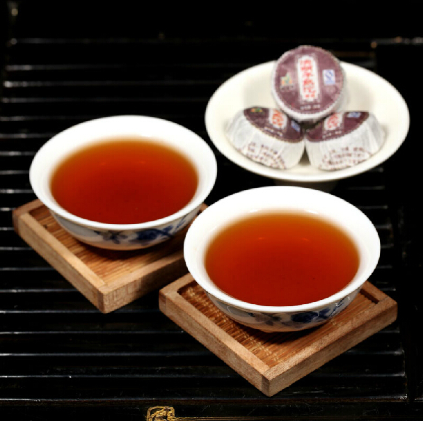 30pcs mini ripe puer tea Chinese yunnan puer tea puer ripe pu er tea bag gift