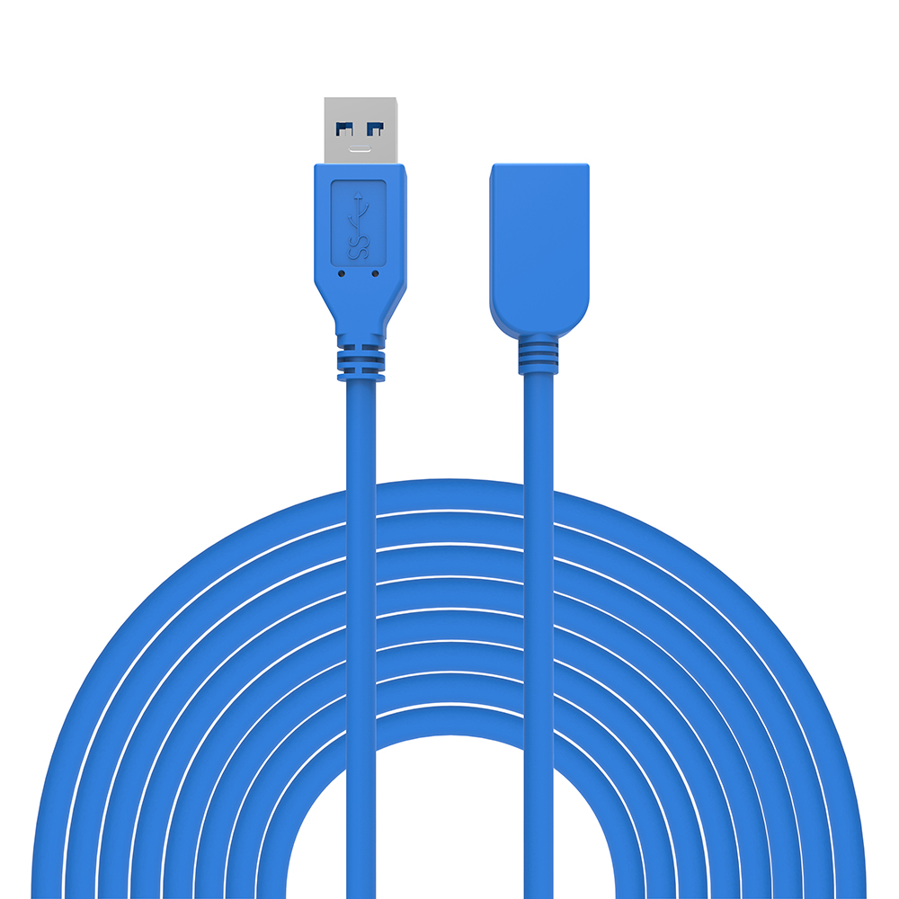 0.5M 1M 1.5M 3M 5M USB 3.0 Extension cable Male to Female Data Sync Cable for U Disk Wireless Lan Printer Mobile Phone Camera(China (Mainland))
