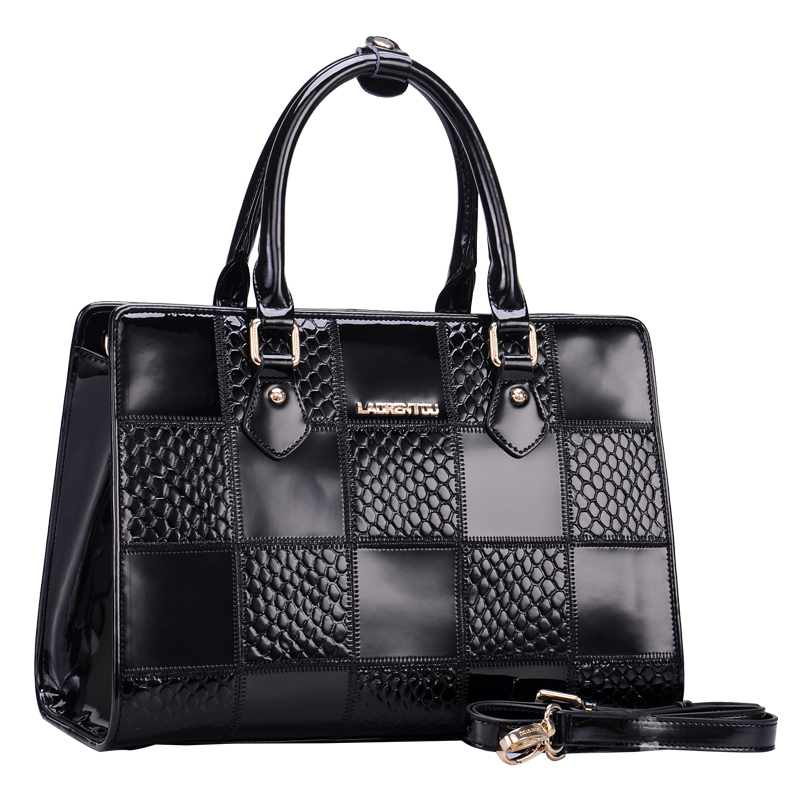 Women leather handbag Crocodile women's handbag 2014 women's cowhide bags fashion female fashion handbag  totes