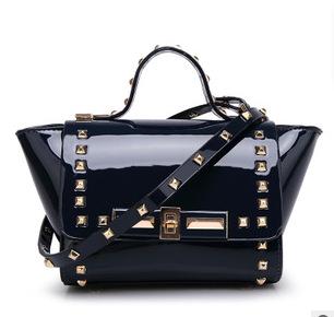 2015 women's summer bag handbag bag rivets for mini swing bag one shoulder bag women's handbag(China (Mainland))