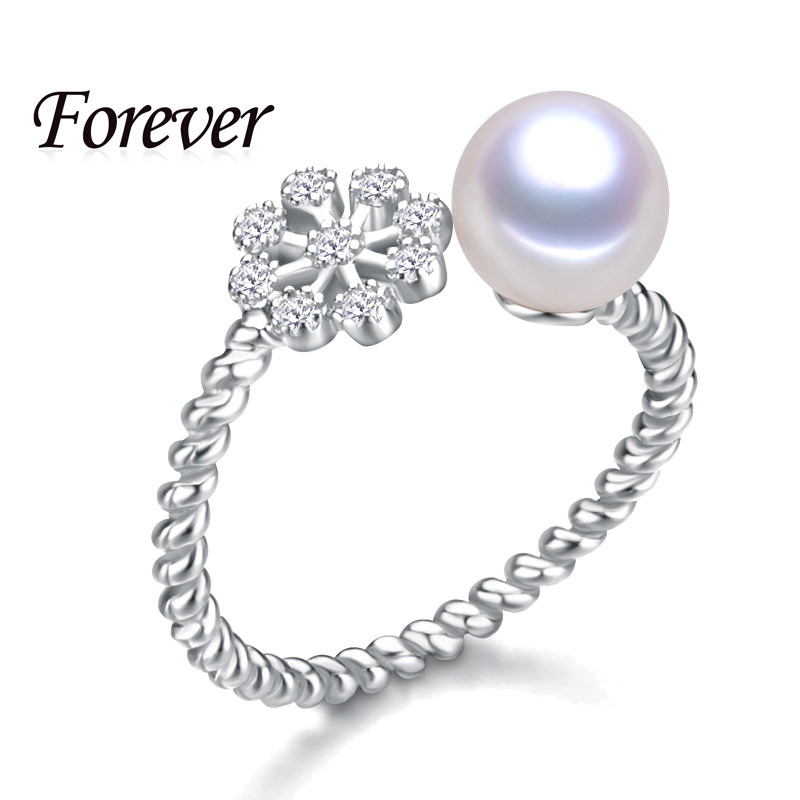 2015 New Hot Sale Fashion Snow Party Rings For Girls 925 Sterling Silver Rings Wedding Rings Women Summer Ring Christmas Gift(China (Mainland))