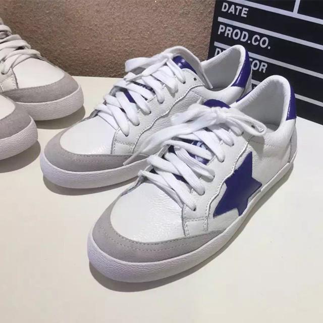 Обувь из натуральной Кожи 2016 Весна Лето Спортивная Обувь Женщины Белые Кроссовки мода звезды обувь удобная дышащая D911