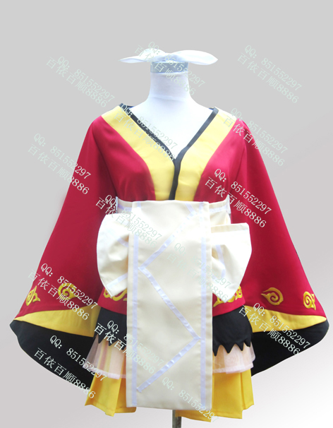 New Hatsune Miku Vocaloid Rin Oiran Sister Cosplay Costume Any SizeОдежда и ак�е��уары<br><br><br>Aliexpress