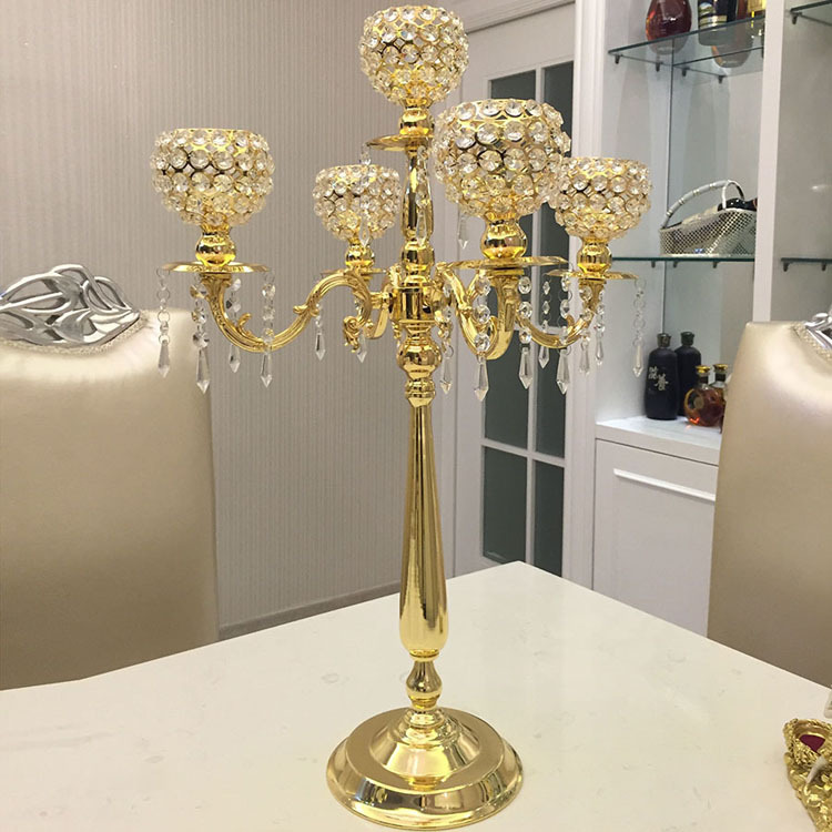 Online buy wholesale gold candelabra from china
