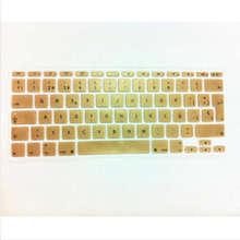 Spanish UK/EU Silicone Soft Keyboard Cover Skin sticker Protective film for apple MacBook Air 11.6 inch 11″ EU layout