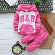 2016 new baby set cool hoodies coat+pants children clothing set baby clothing for girls and boys(China (Mainland))