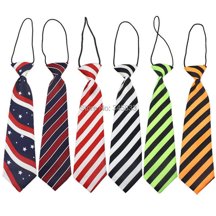 2015 brand baby neck tie fashion boys necktie choker kids striped bow tie children cravat neckwear(China (Mainland))