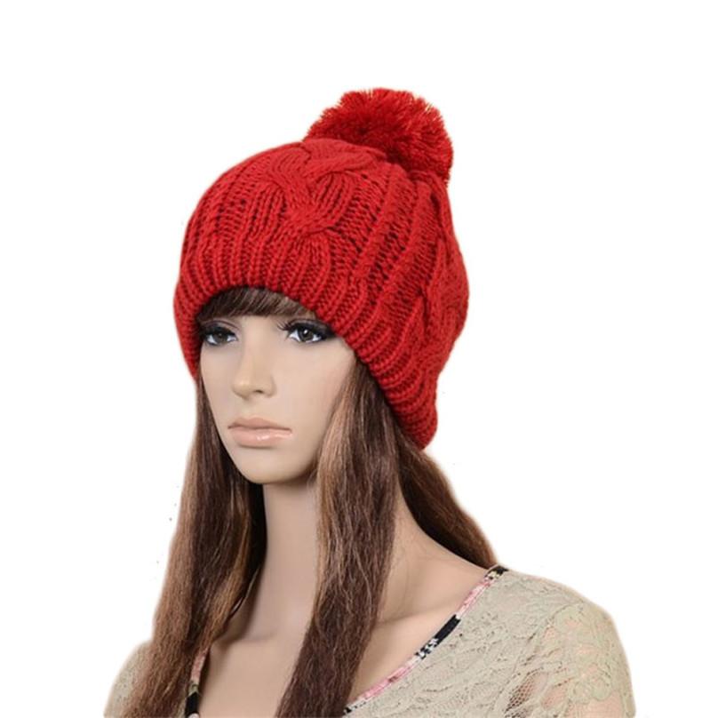 1шт моды зимняя шляпа мужчин женщин