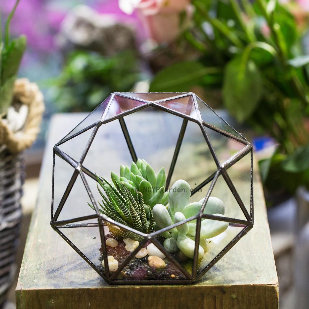 Online kaufen gro handel verzinktem blumenvase aus china for Blumentopf glas