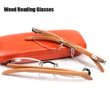Wood Glasses Frame Bamboo Reading Glasses For Men Women Fashion Glasses Brand DESIGN Gafas Oculos De Grau Eyewear