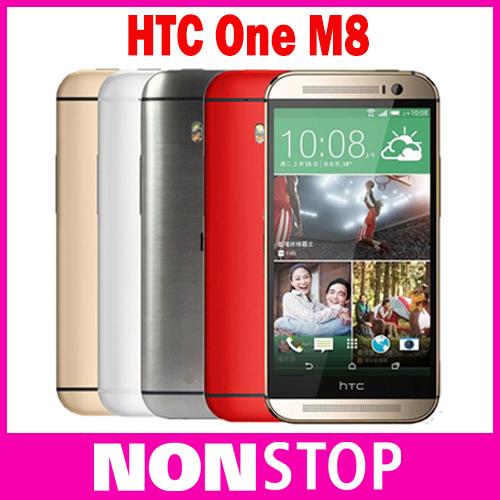 Original HTC One M8 Android Phones Quad Core 4G LTE Network 2GB RAM 16GB Storage 3 Cameras Cellphones(China (Mainland))