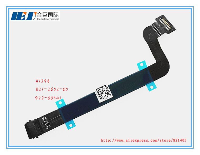 821-2652-05 New Original Replacement Trackpad Flex Cable For MAC A1398 2015 EMC2909 923-00541(China (Mainland))
