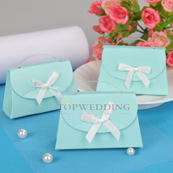 blue ladies 39 handbag design wedding party favors baby shower favors