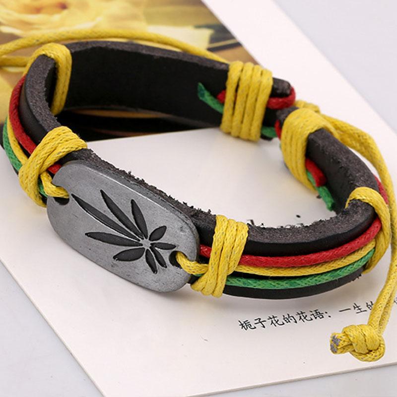 Punk Cow and PU Leather Rope Vintage Bracelets Trendy Party Bracelet & Bangle Fashion Bracelet Gift For Lover(China (Mainland))
