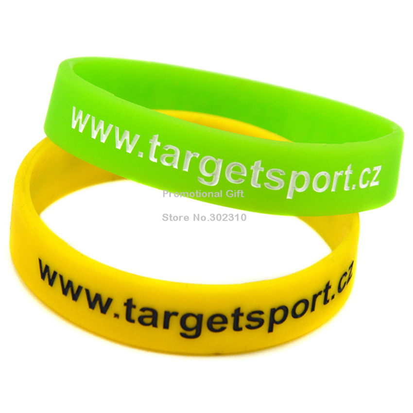 Custom Logo Silicone Rubber Wristbands for Sport Activity(China (Mainland))