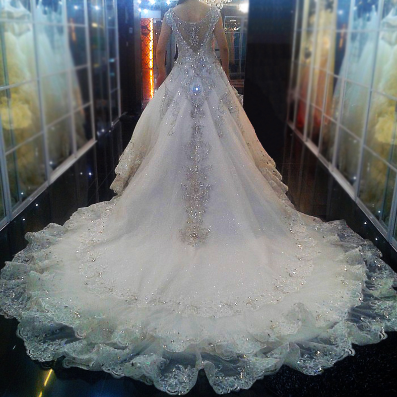 2013 new arrival luxury princess royal family quality bling crystal ...