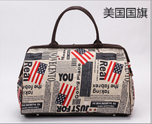New 2015 Women Travel Bags Fashion Casual Business Vintage Handbags Large Capacity Sport Bag Size 44*30*20cm OS-AY-004(China (Mainland))