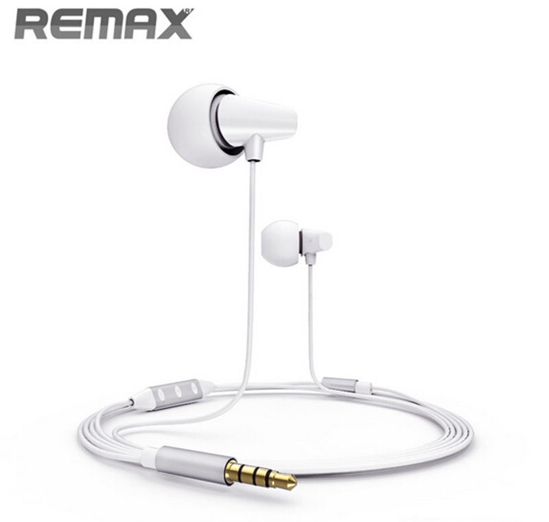 Original Remax RM-701 In-Ear Ceramic Headphone Music Earphone Portable Headset Mic iOS System Wire Control Wholesale 5pcs/Lot<br><br>Aliexpress