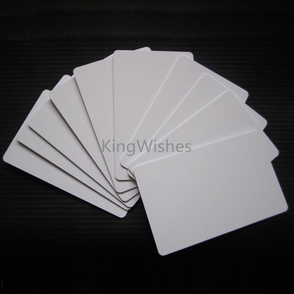 230PCS/Box Glossy Printable Blank PVC Card No Chip For Epson TX720WD PX700W PX800FW PX665 PX660 Printer<br><br>Aliexpress