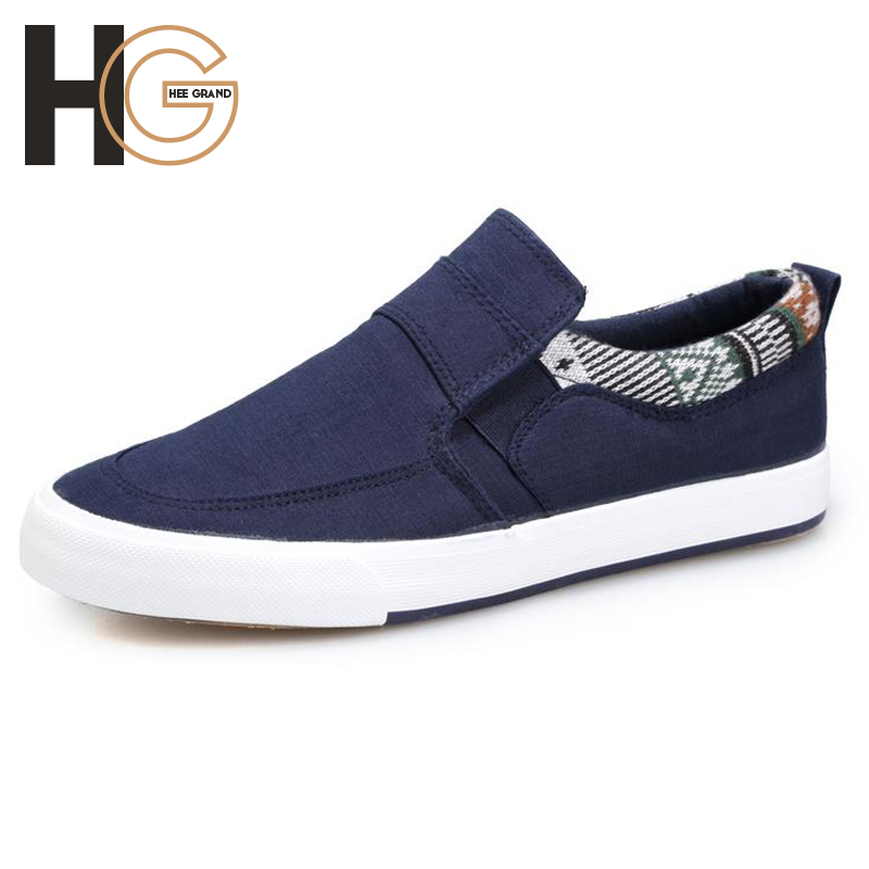 Mens Casual Canvas Fashion British Style Summer Slip-on Patchwork Flats for Men ,High Quality XMR818<br><br>Aliexpress