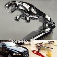 Free Shipping Antirust for Jaguar Leaper Cat Car Sticker Badge Emblem Decal Refitting Alloy Wholesales Drop Shipping