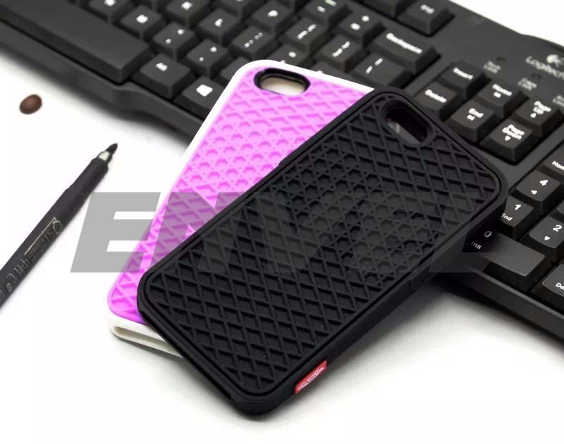 Vans For iPhone 6s Case Cover Soft Rubber Silicone vans Shoes Sole for iPhone 5se Phones case square shell