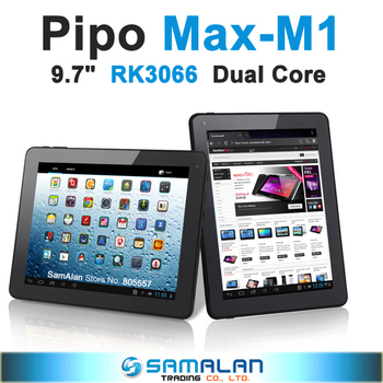 "9.7"" Pipo MAX M1 Tablet PC IPS capacitive screen dual core 1.6GHz RAM 1GB ROM 16GB android 4.1 wifi bluetooth"