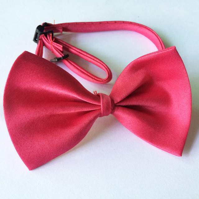 Promotion 1pc On Sale Cute Pet Grooming Accessories Adjustable Dog Bow Tie Collar Various Colors