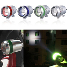 Motorcycle LED Headlight Switch U4 30W Devil Angel Eye Fog DRL Daytime Running Light Spotlight Led Lamp new - Airland's Store store